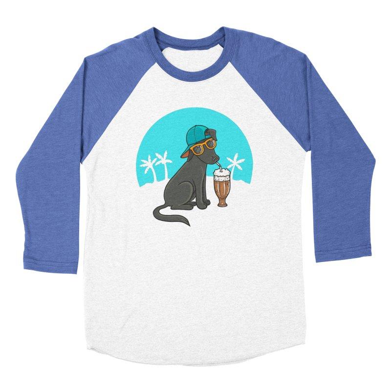 Summertime Men's Baseball Triblend Longsleeve T-Shirt by spookylili