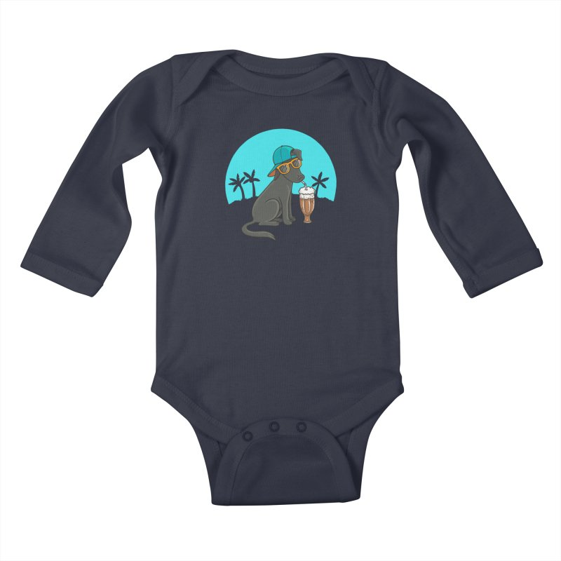 Summertime Kids Baby Longsleeve Bodysuit by spookylili