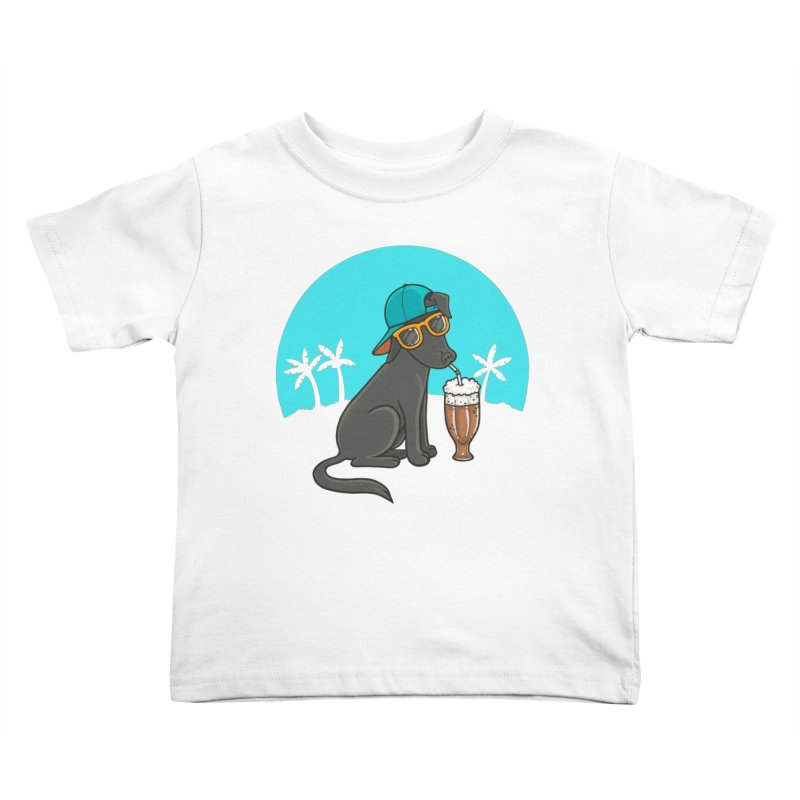 Summertime Kids Toddler T-Shirt by spookylili