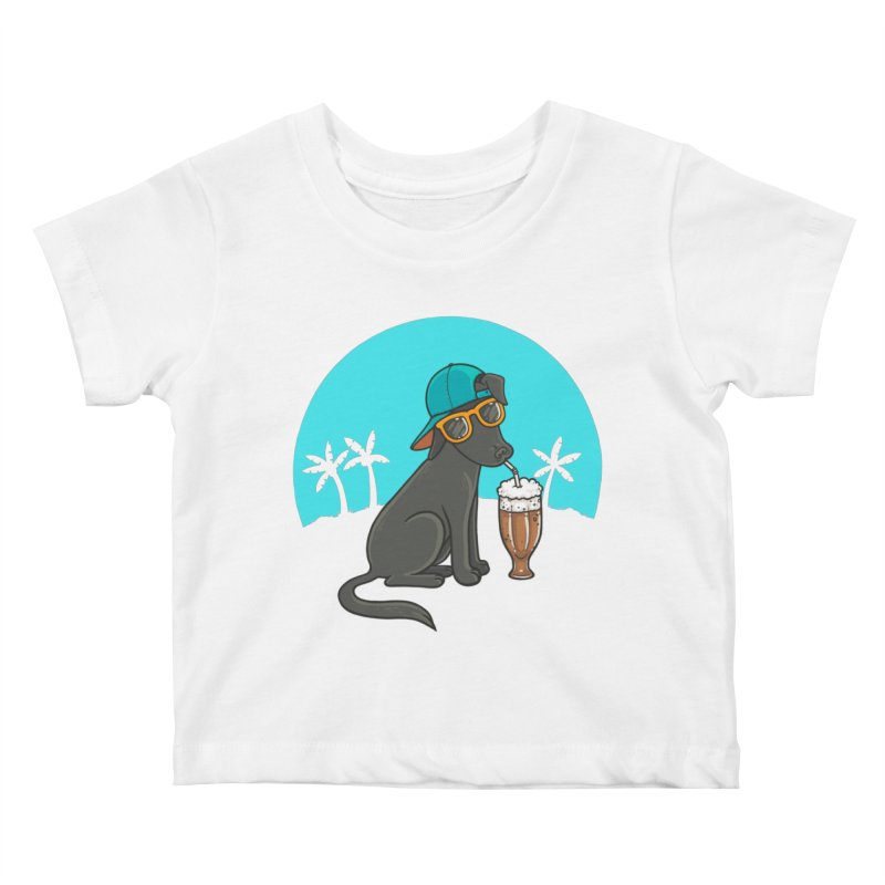 Summertime Kids Baby T-Shirt by spookylili