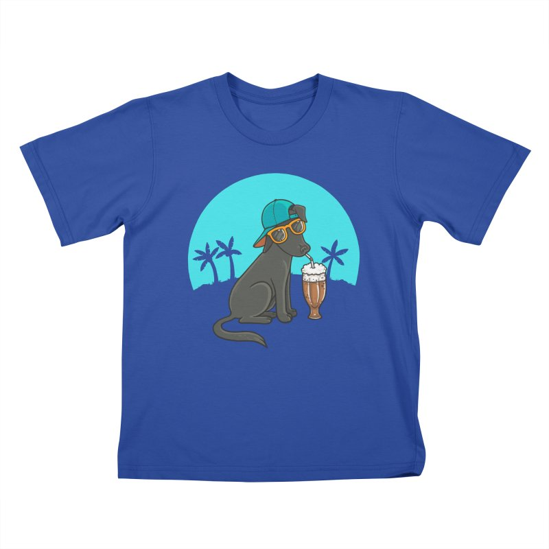 Summertime Kids T-Shirt by spookylili