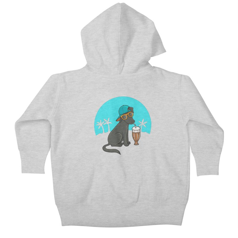 Summertime Kids Baby Zip-Up Hoody by spookylili