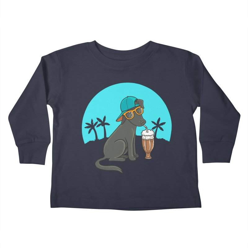Summertime Kids Toddler Longsleeve T-Shirt by spookylili