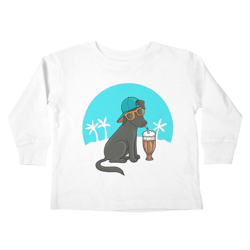 Summertime Kids Toddler Longsleeve T-Shirt by spookylili