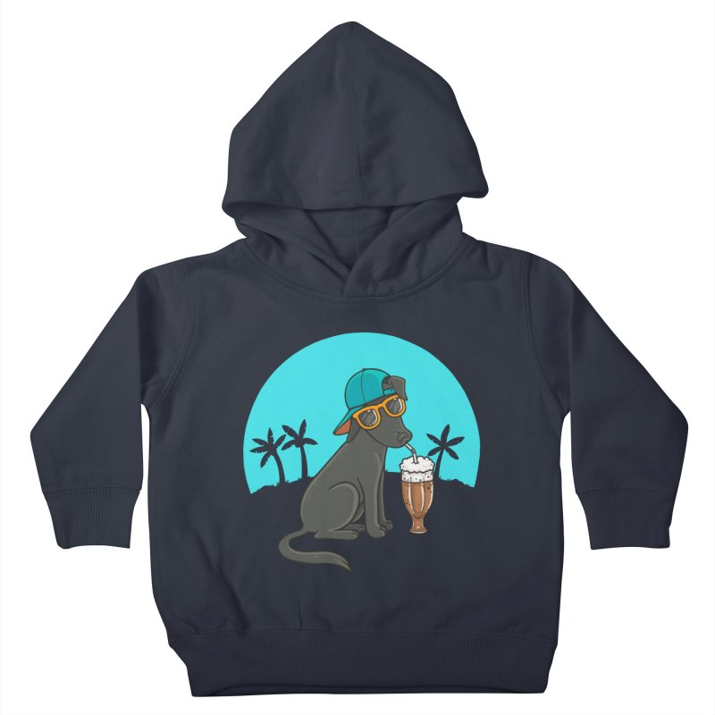 Summertime Kids Toddler Pullover Hoody by spookylili