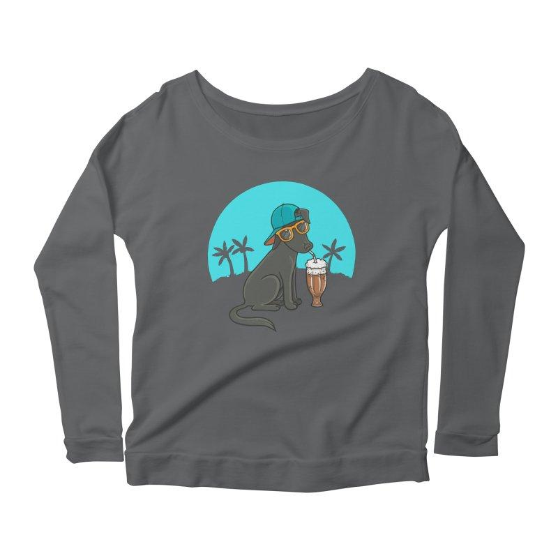 Summertime Women's Scoop Neck Longsleeve T-Shirt by spookylili