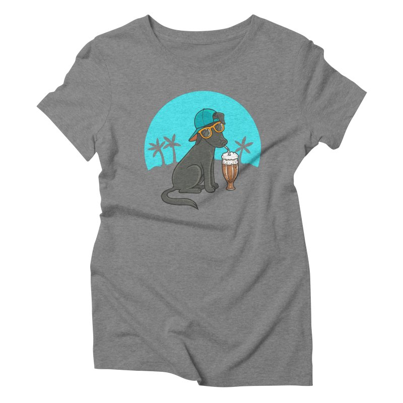 Summertime Women's Triblend T-Shirt by spookylili
