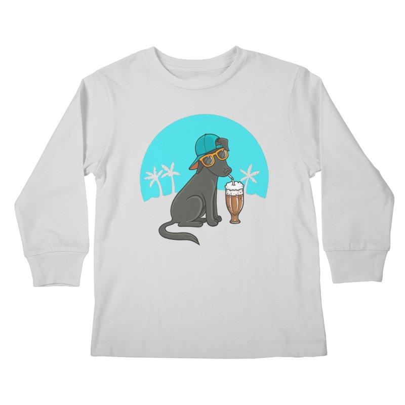 Summertime Kids Longsleeve T-Shirt by spookylili
