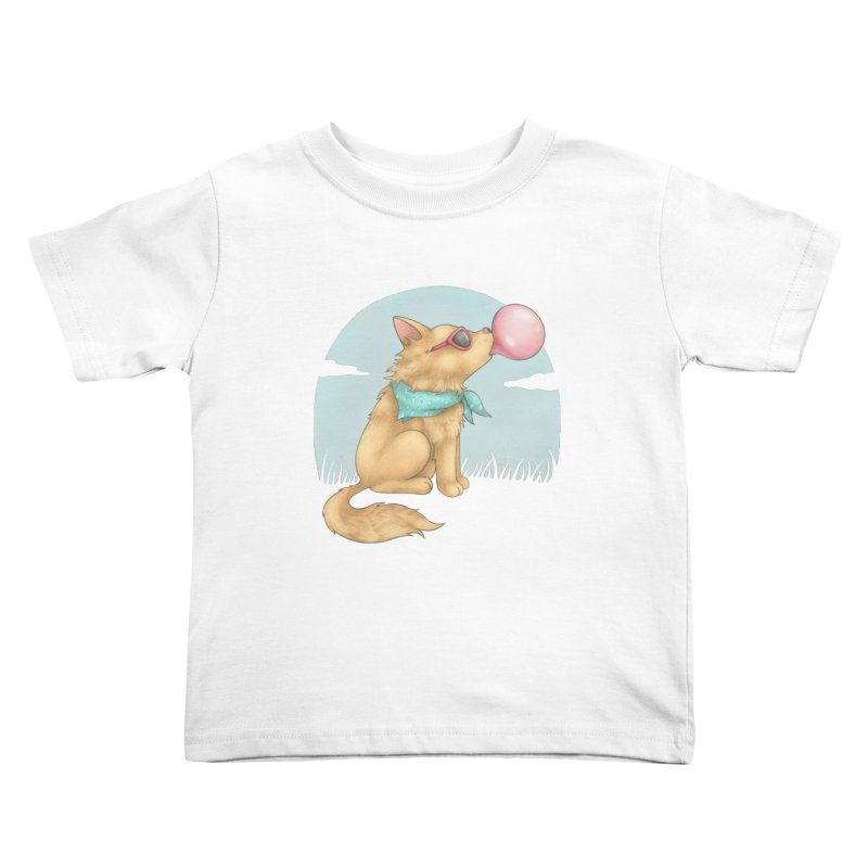 Bubblegum Kids Toddler T-Shirt by spookylili