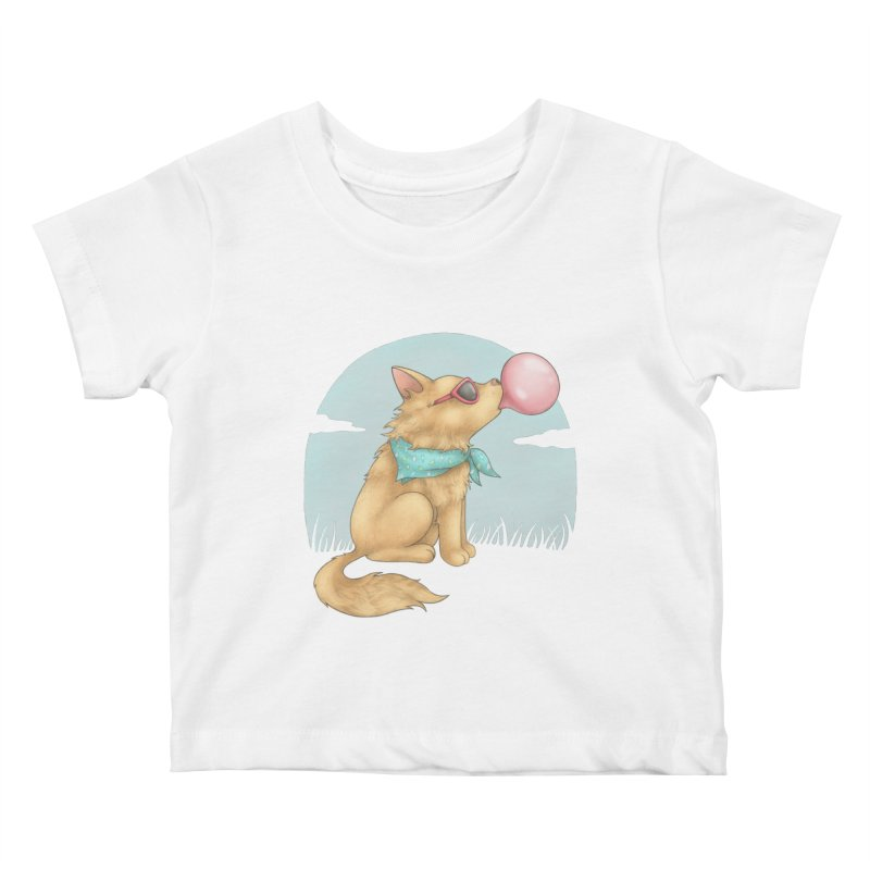 Bubblegum Kids Baby T-Shirt by spookylili
