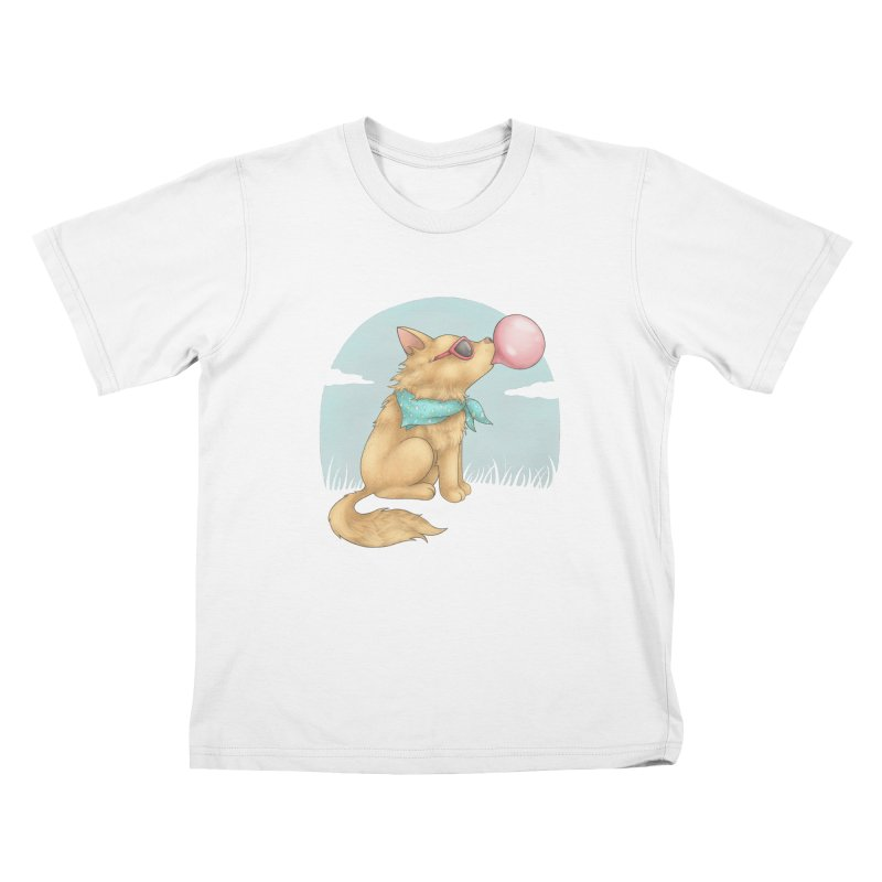Bubblegum Kids T-Shirt by spookylili