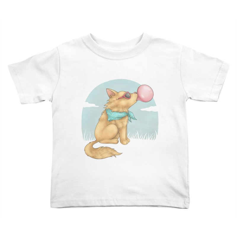 Bubblegum Kids Toddler T-Shirt by spookylili
