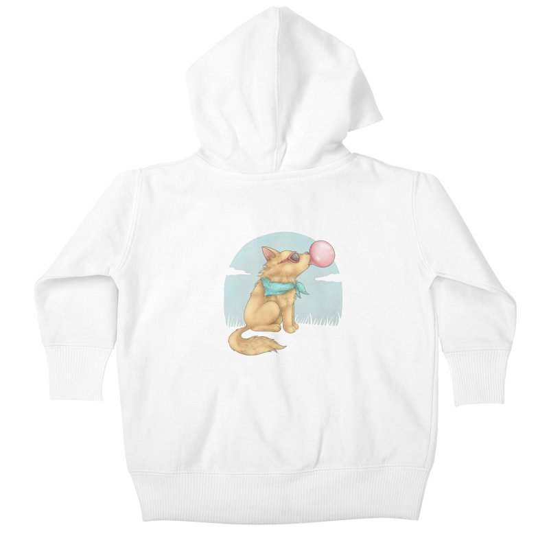 Bubblegum Kids Baby Zip-Up Hoody by spookylili