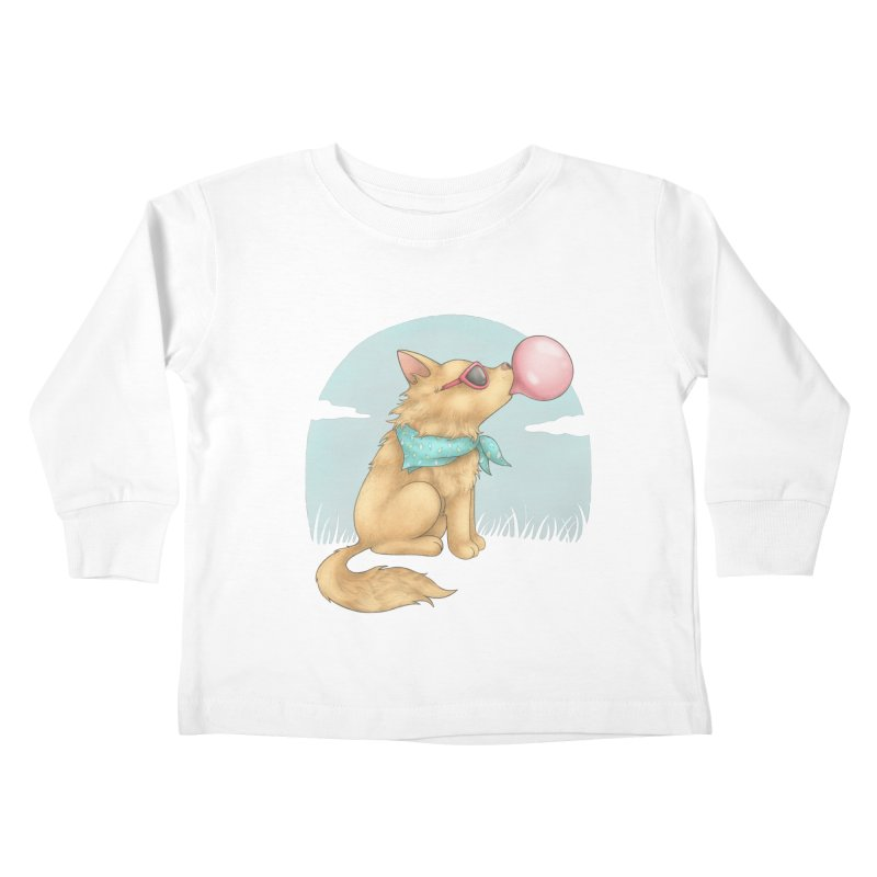 Bubblegum Kids Toddler Longsleeve T-Shirt by spookylili