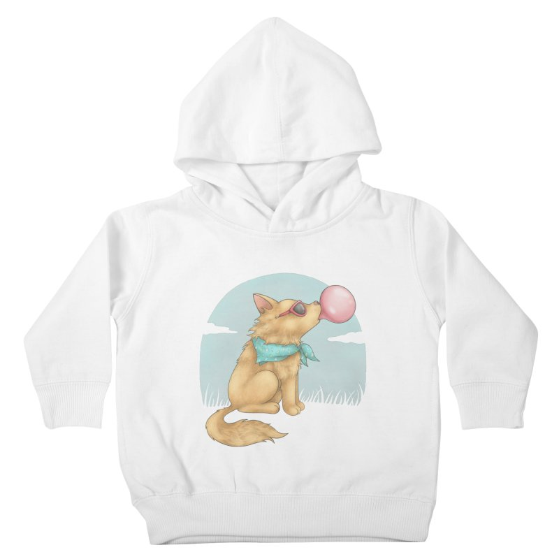 Bubblegum Kids Toddler Pullover Hoody by spookylili