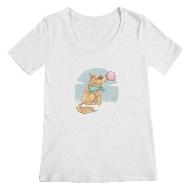 Bubblegum Women's Regular Scoop Neck by spookylili
