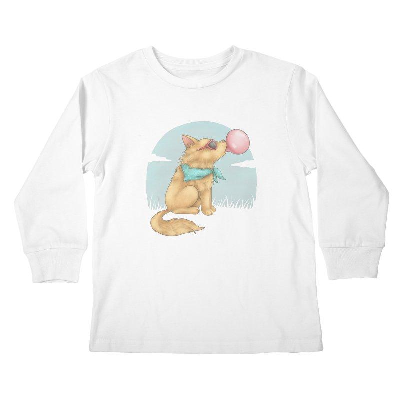 Bubblegum Kids Longsleeve T-Shirt by spookylili