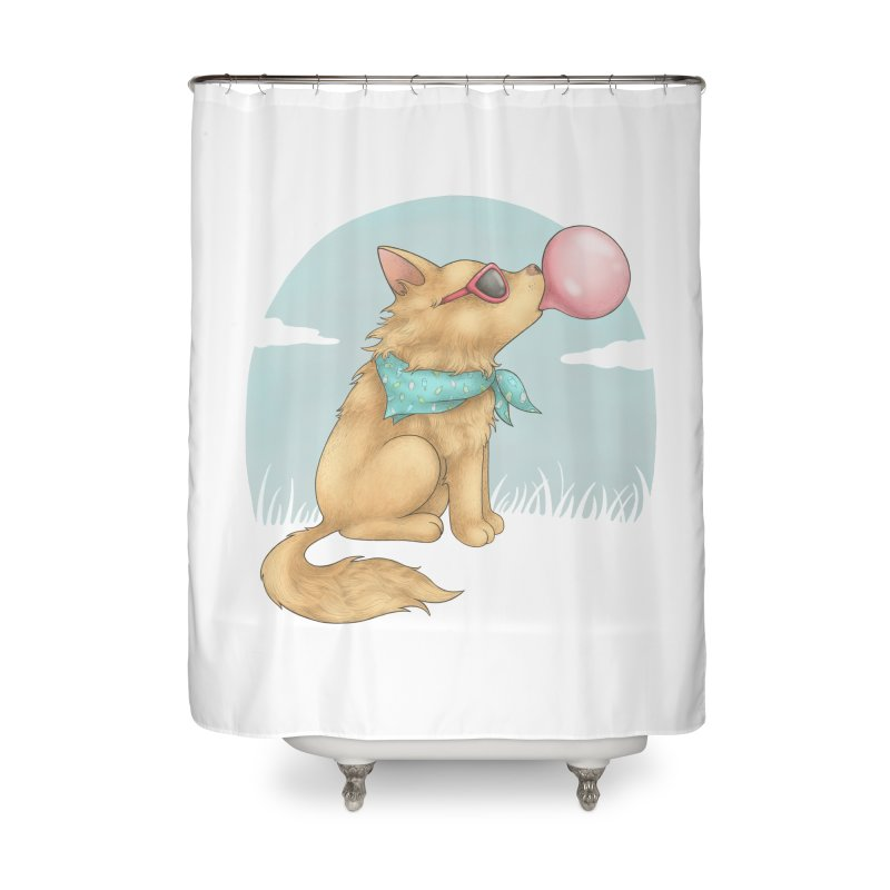 Bubblegum Home Shower Curtain by spookylili
