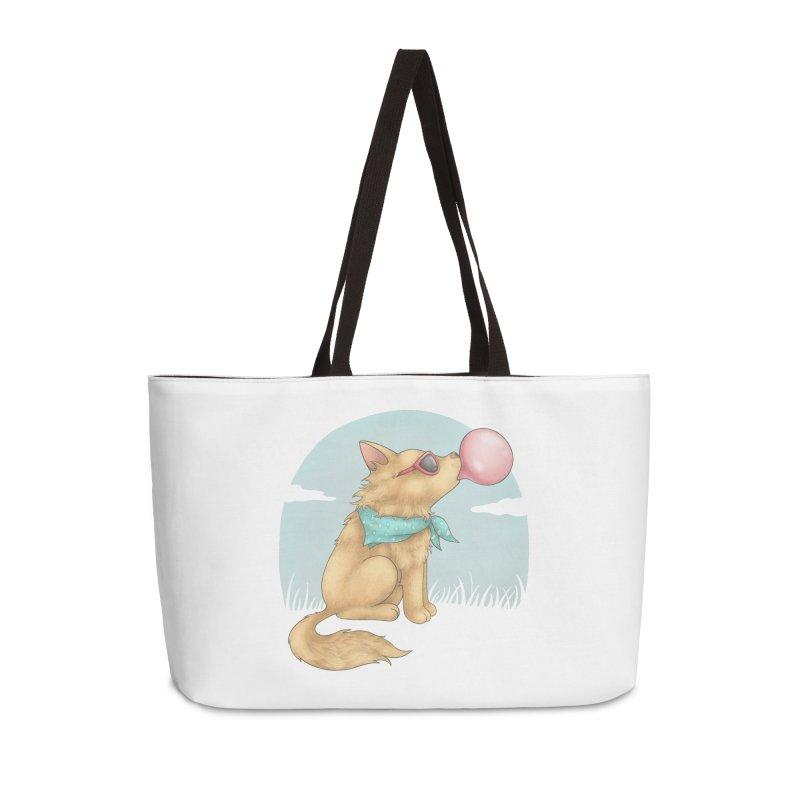 Bubblegum Accessories Weekender Bag Bag by spookylili