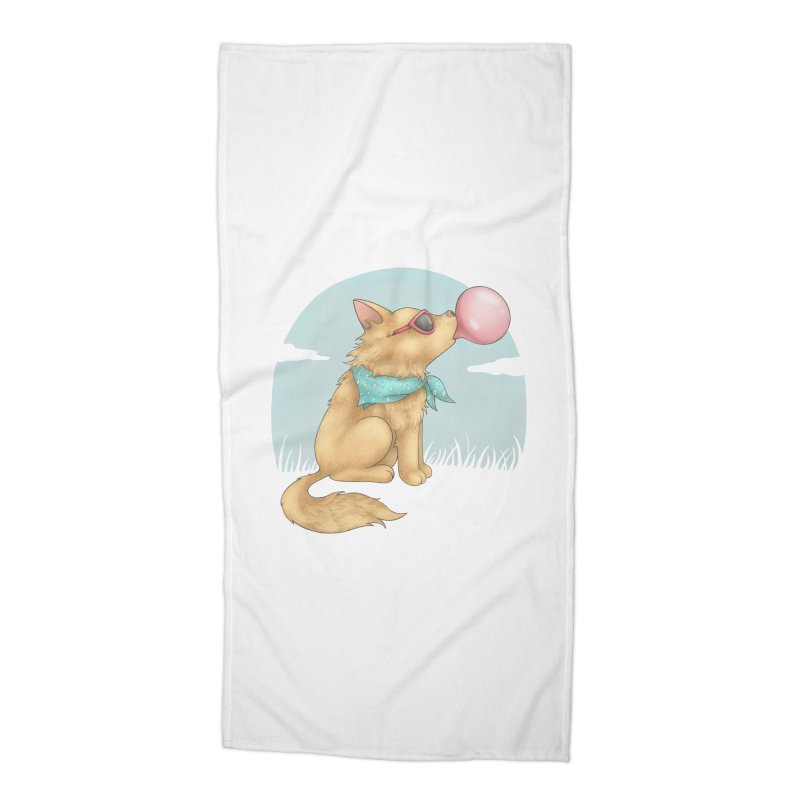 Bubblegum Accessories Beach Towel by spookylili