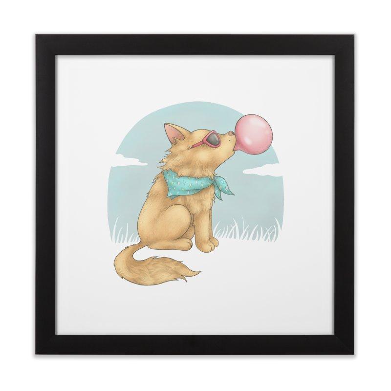 Bubblegum Home Framed Fine Art Print by spookylili