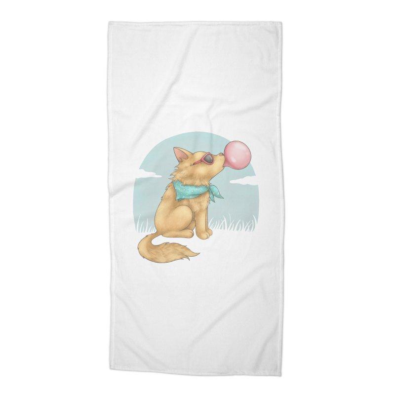 Bubblegum Accessories Beach Towel by spookylili