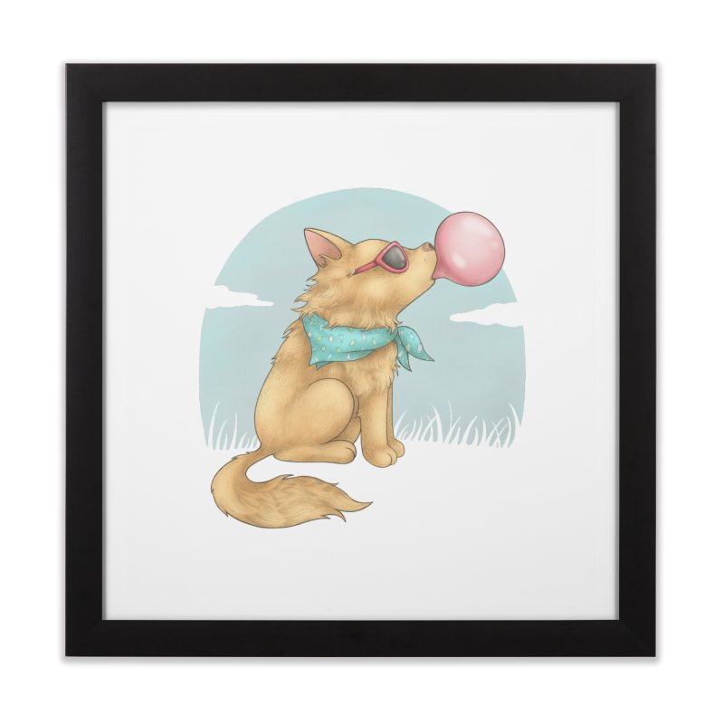Bubblegum Home Framed Fine Art Print by spookylili