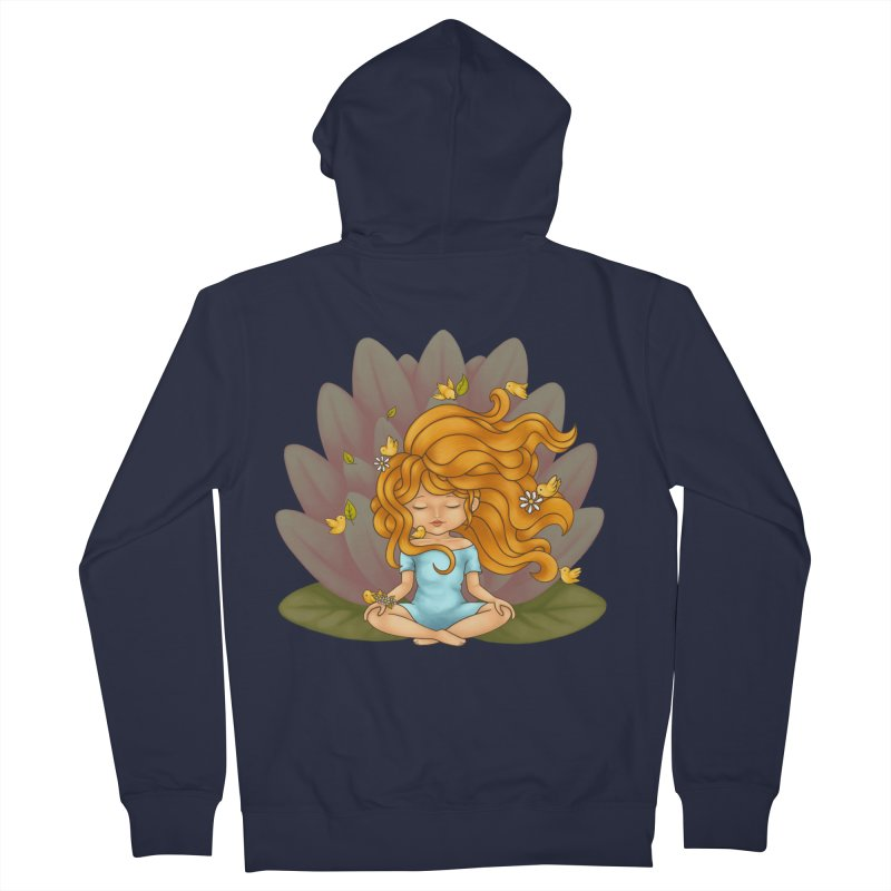 One With Nature Men's Zip-Up Hoody by spookylili
