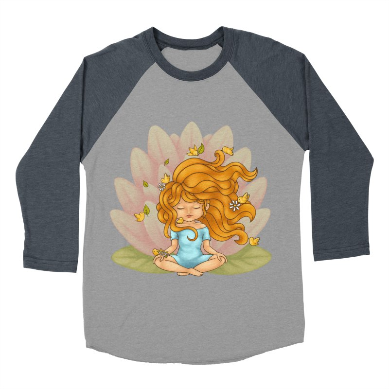 One With Nature Women's Longsleeve T-Shirt by spookylili