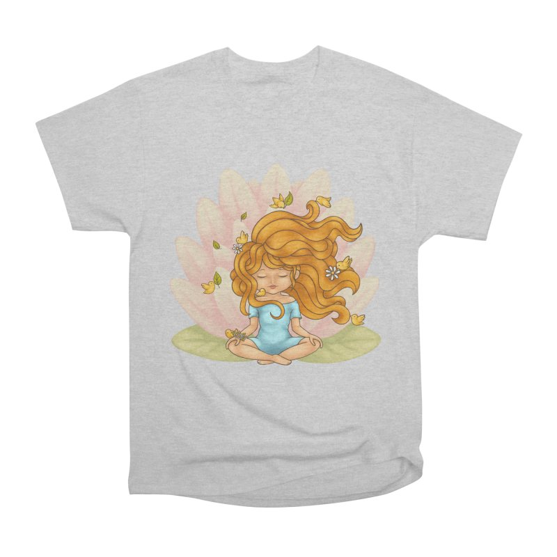One With Nature Women's Heavyweight Unisex T-Shirt by spookylili