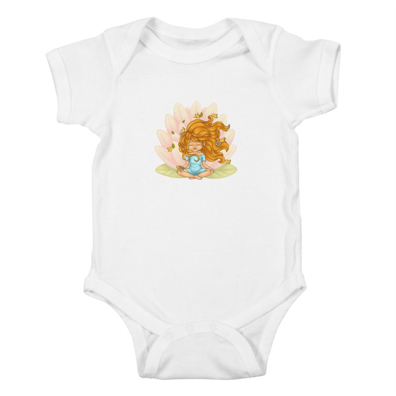 One With Nature Kids Baby Bodysuit by spookylili