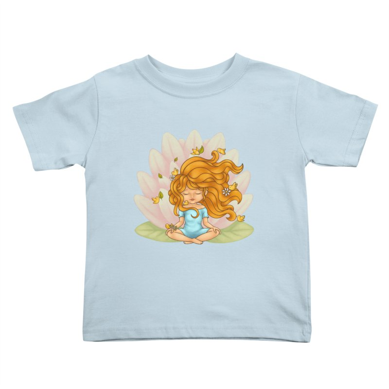 One With Nature Kids Toddler T-Shirt by spookylili