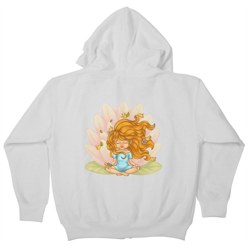 One With Nature Kids Zip-Up Hoody by spookylili
