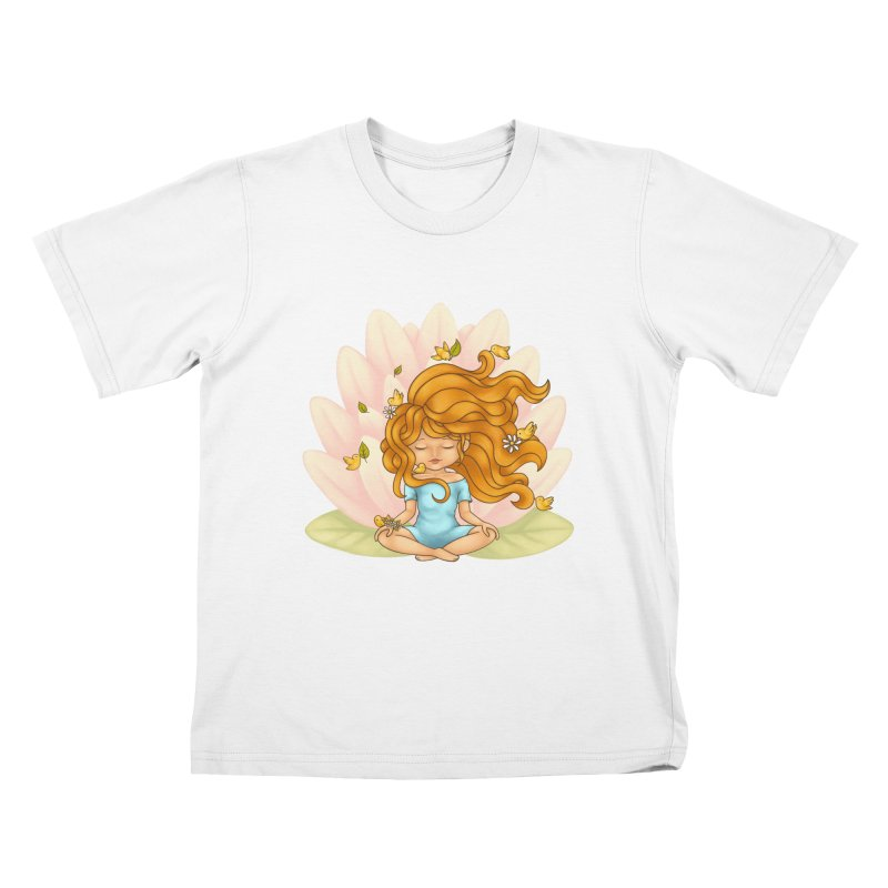 One With Nature Kids T-Shirt by spookylili