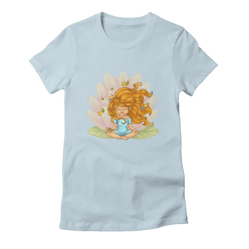 One With Nature Women's T-Shirt by spookylili
