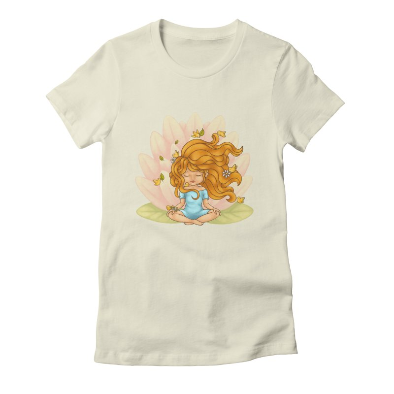 One With Nature Women's Fitted T-Shirt by spookylili