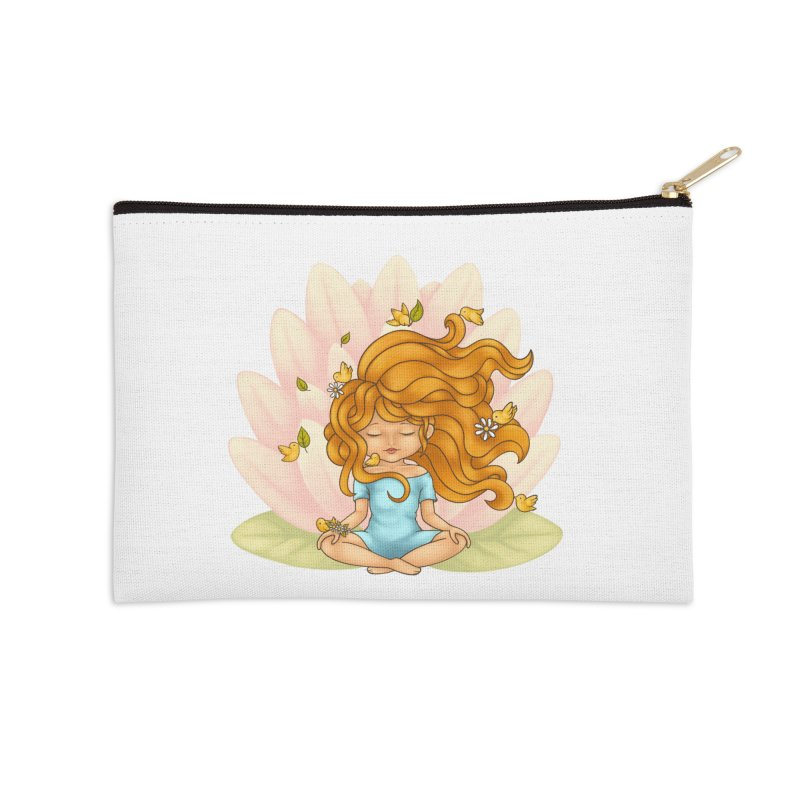 One With Nature Accessories Zip Pouch by spookylili