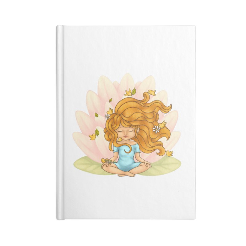 One With Nature Accessories Notebook by spookylili