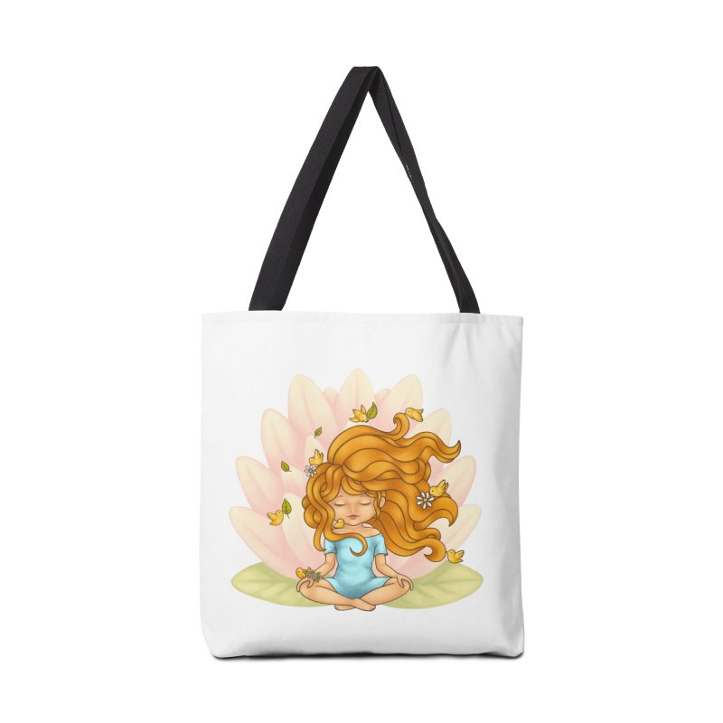 One With Nature Accessories Bag by spookylili