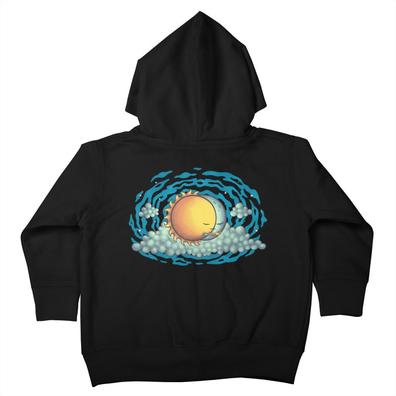 Because the Night Kids Toddler Zip-Up Hoody by spookylili