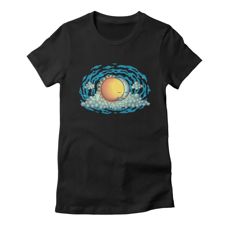 Because the Night Women's Fitted T-Shirt by spookylili