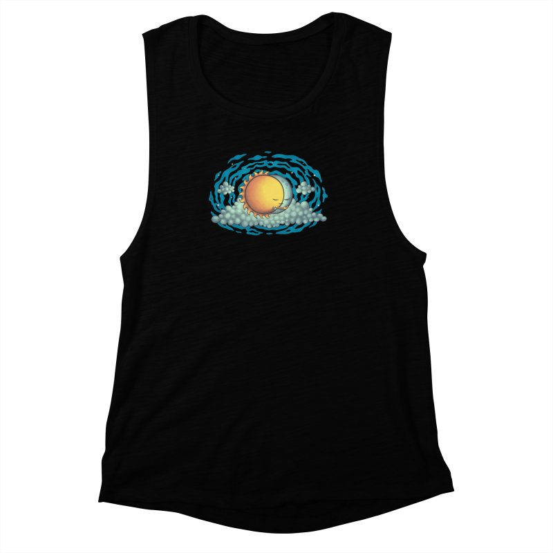Because the Night Women's Muscle Tank by spookylili