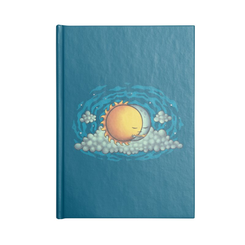 Because the Night Accessories Blank Journal Notebook by spookylili