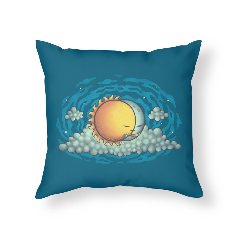 Because the Night Home Throw Pillow by spookylili