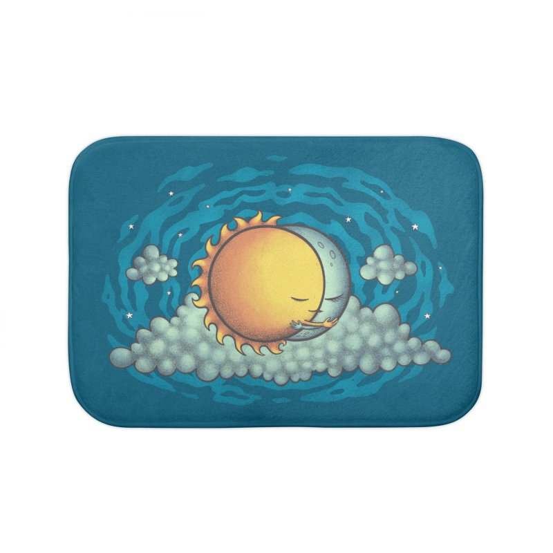 Because the Night Home Bath Mat by spookylili