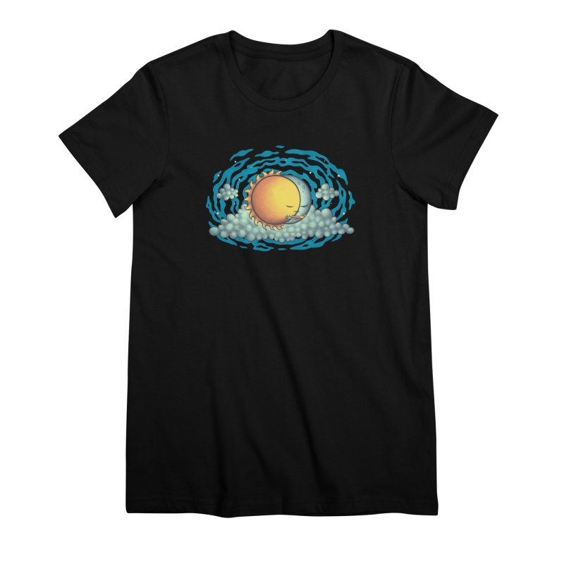 Because the Night Women's Premium T-Shirt by spookylili