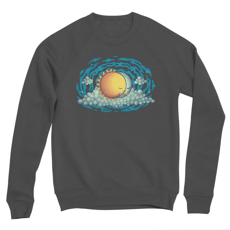 Because the Night Men's Sponge Fleece Sweatshirt by spookylili