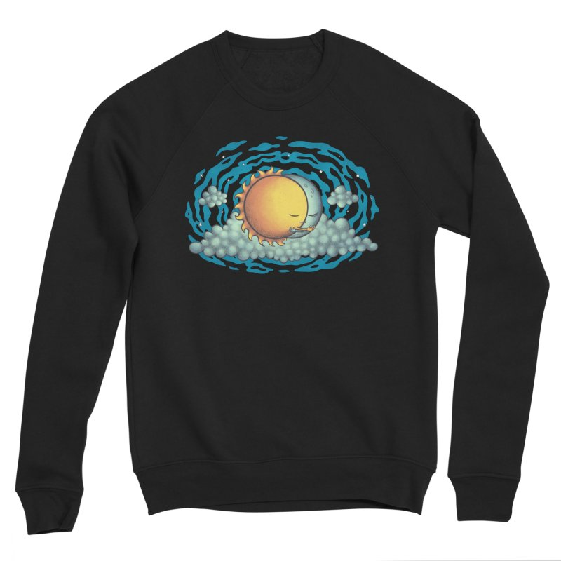 Because the Night Men's Sponge Fleece Sweatshirt by spookylili