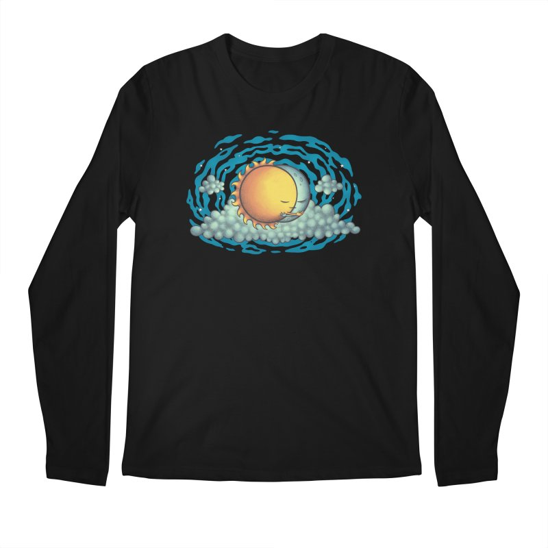 Because the Night Men's Regular Longsleeve T-Shirt by spookylili