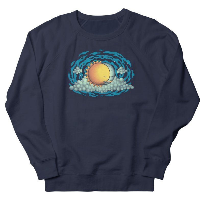 Because the Night Men's French Terry Sweatshirt by spookylili